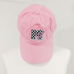 Checkered MTV Fitted Cap/Hat